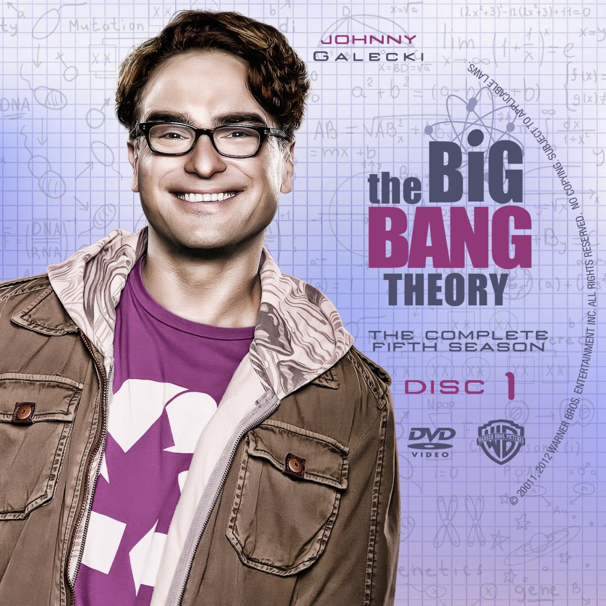 Label The Big Bang Theory The Complete Fifth Season