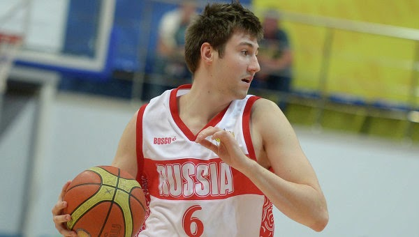 Sergey Karasev plays for Team Russia