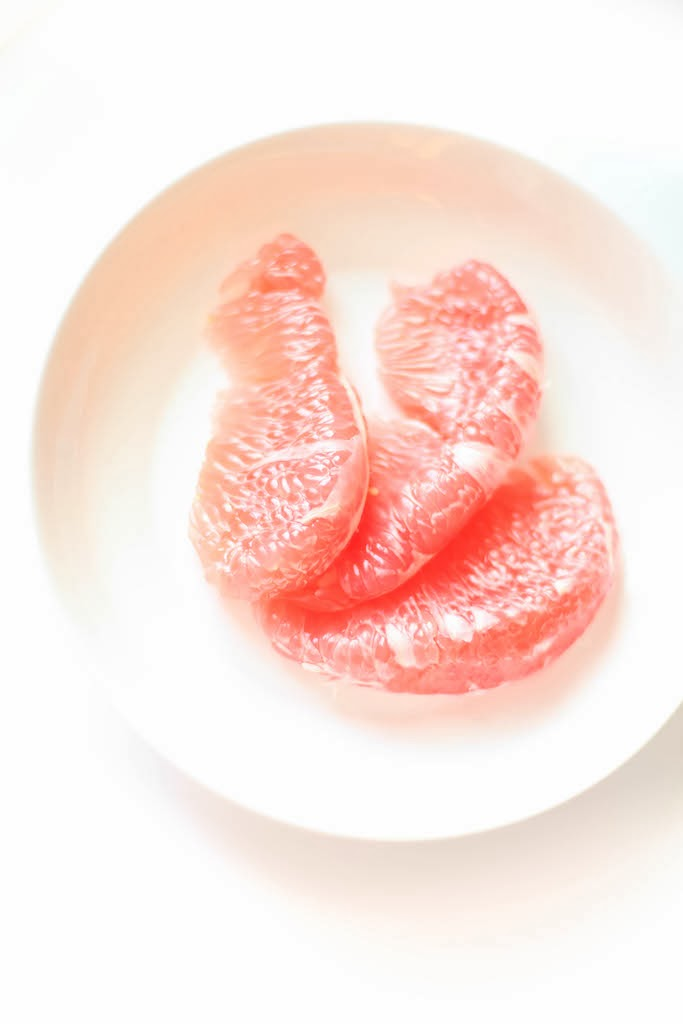 Ruby Red Pomelo | via Chandara Creative