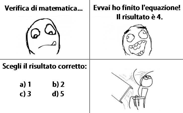 Verifica di matematica