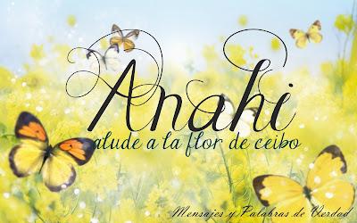 Variantes de Anahi: Anai, Annai, Annahi, Anayeli