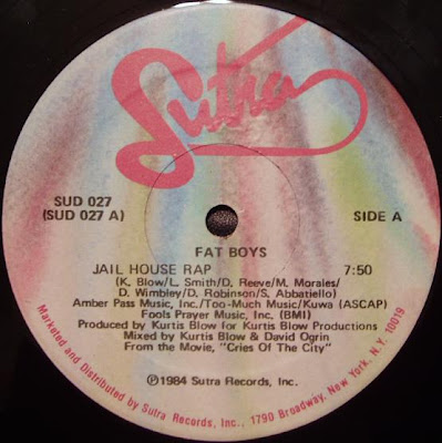 Fat Boys ‎– Jail House Rap (VLS) (1984) (128 kbps)