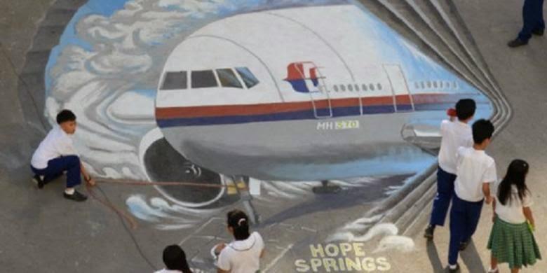 Seluruh Penumpang MH370 Tewas Dinyatakan Telah Tewas