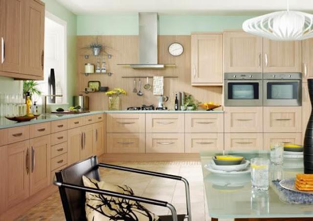 3300 8 or 1401695900 تصميم وديكور مطبخ بمساحة كبيرة بالصور