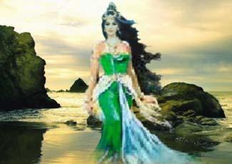 ... Pantai Selatan – Kanjeng Ratu Kidul, Nyi Roro Kid