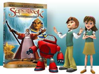 Pelcula El Super Libro en 3D  Pelculas animadas de la Biblia