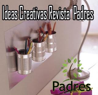 Revista padres ideas creativas haciendo reciclaje for Cosas decorativas para el hogar
