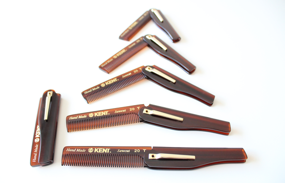 Kent 20T Foldable Pocket Comb