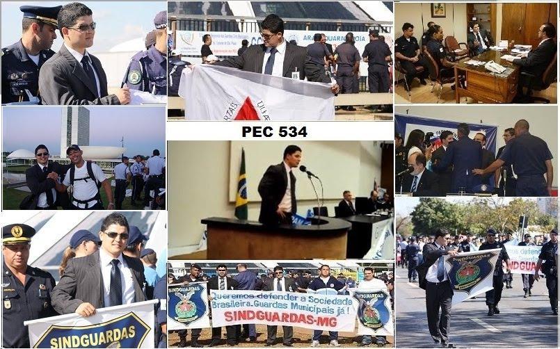 LUTA PELA PEC 534 / POLICIA MUNICIPAL