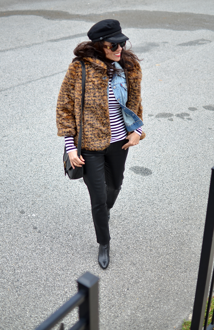 Chic layered outfit