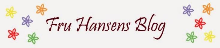 Fru Hansens Blog