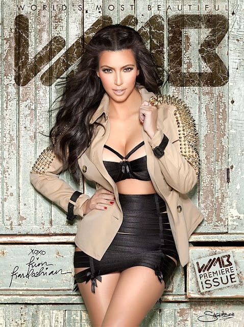 Kim Kardashian – World's Most Beautiful 3-D Magazine Photoshoot (MQ)