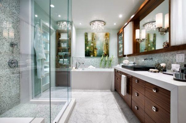 Azzure inspiring bathroom design for Hgtv candice olson bathroom designs