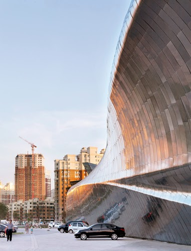 China Wood Sculpture Museum by MAD Architects