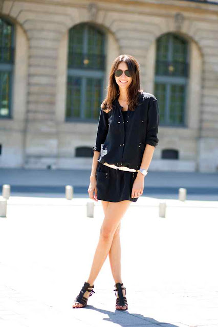 On summer in paris. Great easy & classic look