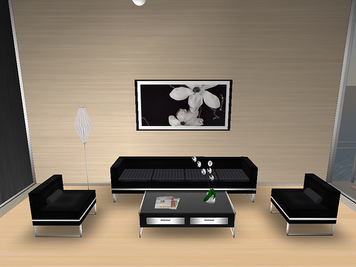 Creating simple home designs home design inside for Interior design minimalist living room