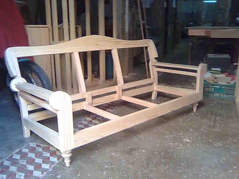 Esqueletajes Y Tapicerias Esqueletaje De Sofas A Medida - Como-hacer-un-sillon-de-madera
