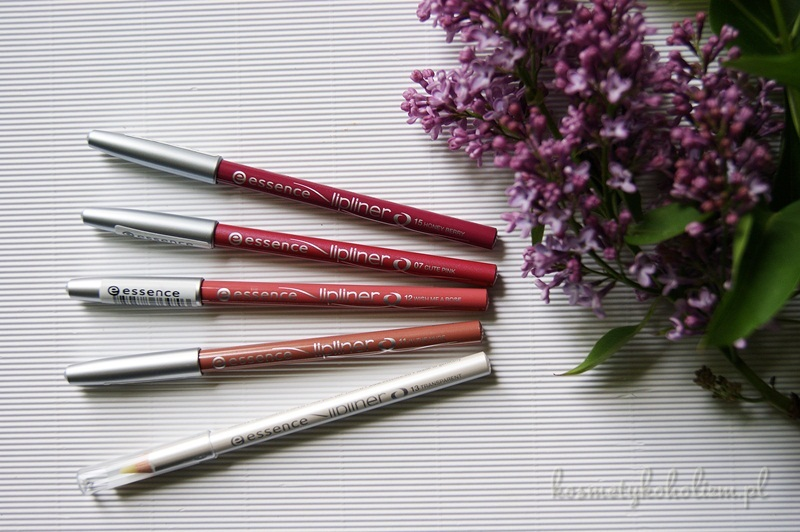 Essence Lipliner ❤ 07 Cute Pink ❤ 11 In The Nude ❤ 12 Wish Me A Rose ❤ 13 Transparent ❤ 15 Honey Berry