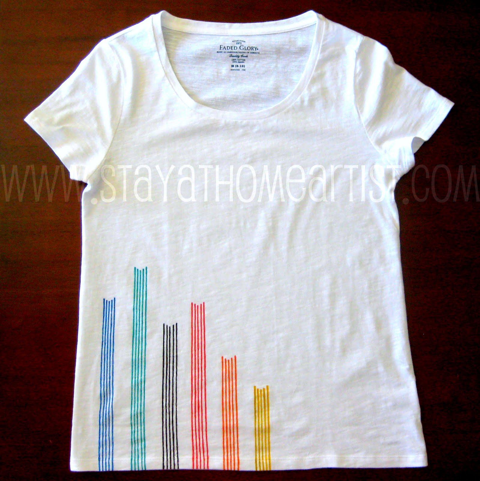 linear design t shirt. Black Bedroom Furniture Sets. Home Design Ideas