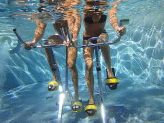 Spinning bajo el agua o pedalear bajo el agua ¿es beneficioso?