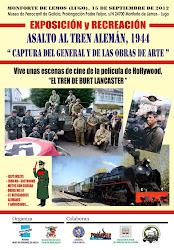 RECREACIÓN DE UN ASALTO A UN TREN ALEMAN EN 1944