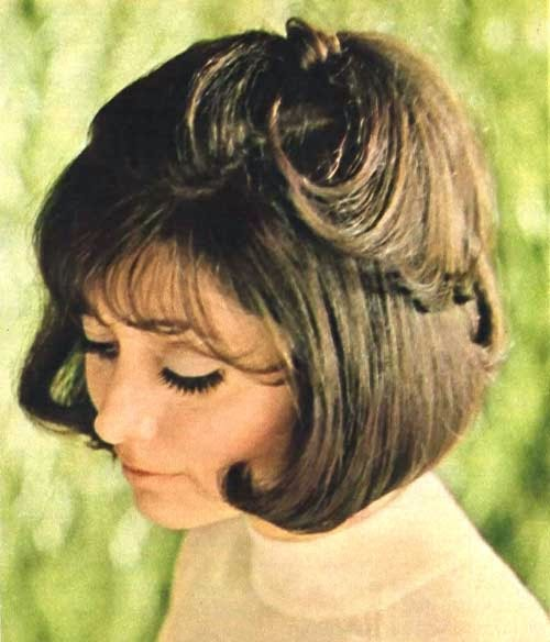 Mod and Mint: Vintage Spring Hair Styles from the 1970s - Bergdorf Goodman Top knot Hair cut