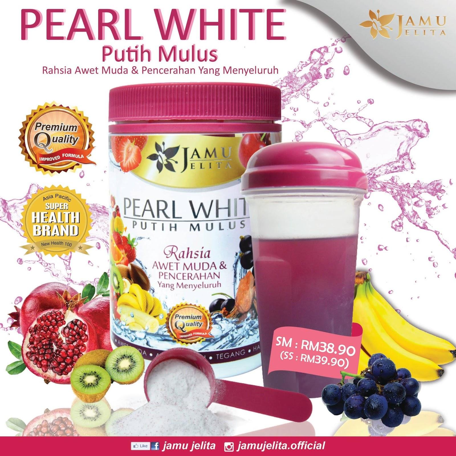 Pearl White Putih Mulus
