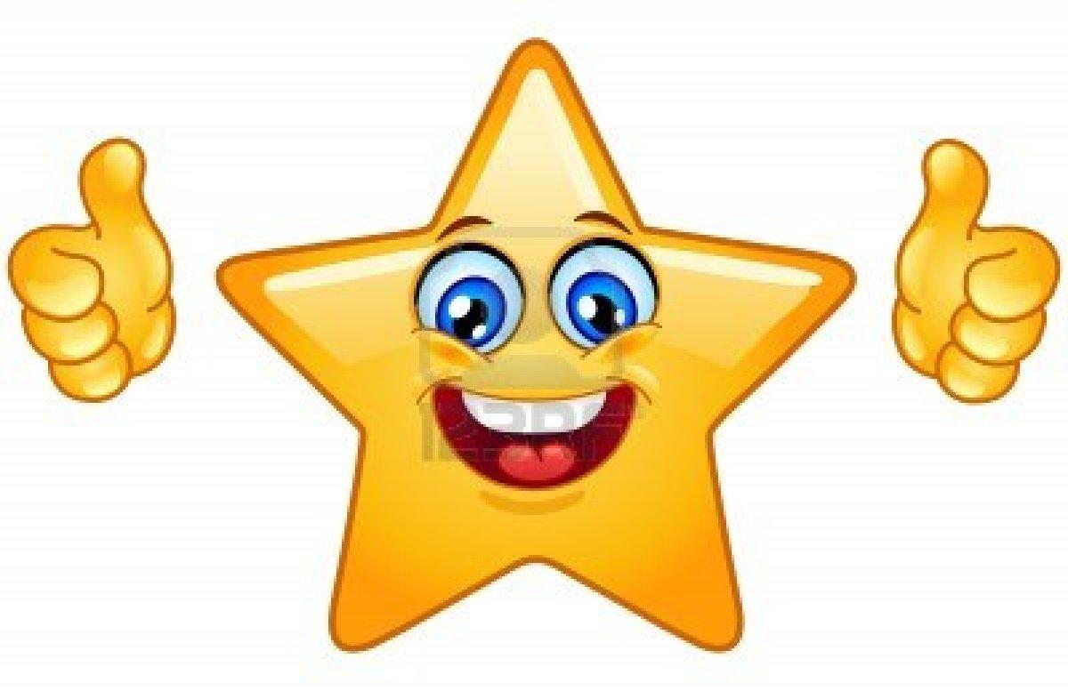 happy star clip art - photo #40