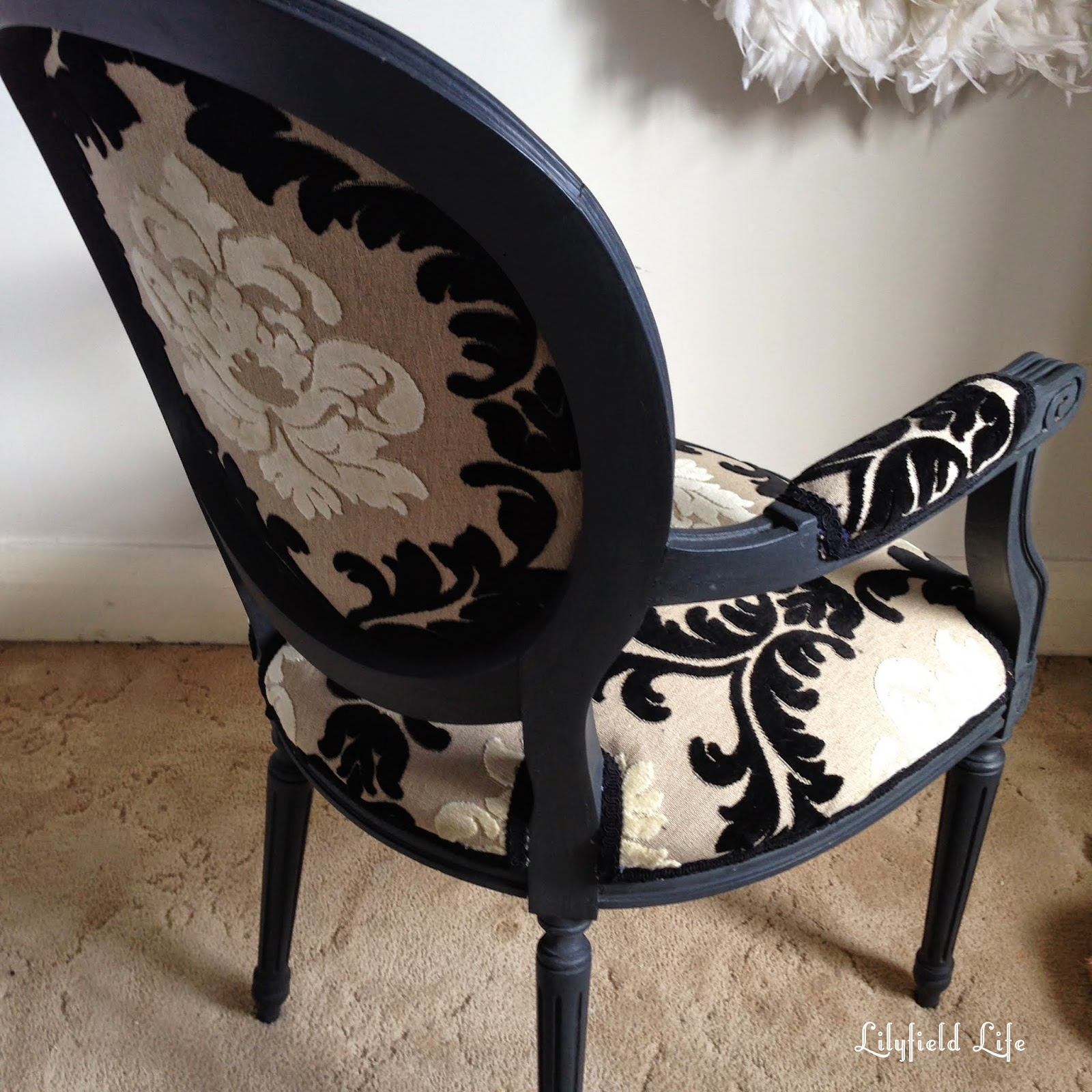 Lilyfield Life french chair upholstery tutorial