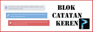 Blok Catatan Yang Keren Ini Khusus Buat Blogmu