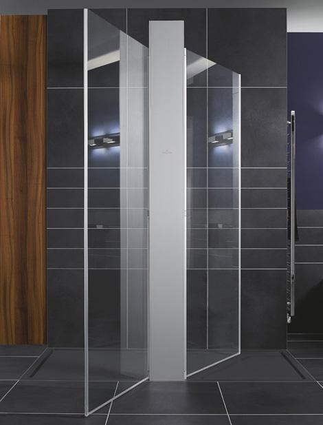 Trend Homes Walk In Shower Modern Design