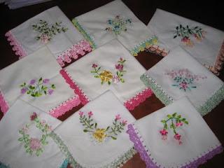 Knitting Ribbon Stitch : 2011 Ribbon embroidery-Knitting Gallery