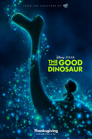 The Good Dinosaur Official Release Poster