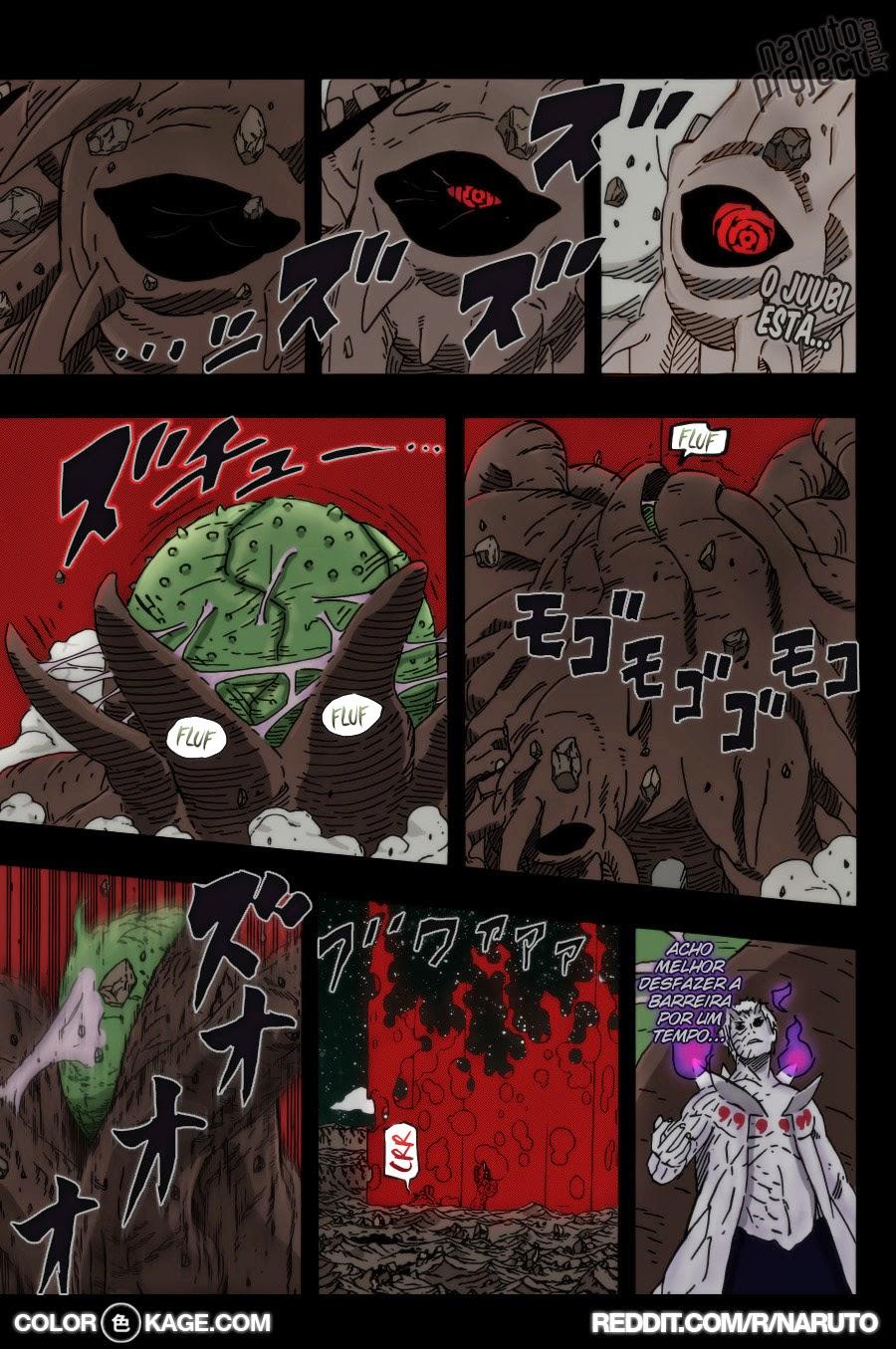 Naruto 646 Mangá Colorido em português leitura online