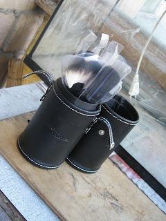 Мои кисти для макияжа Jean's и Just + кофр-тубус для их хранения фото 2