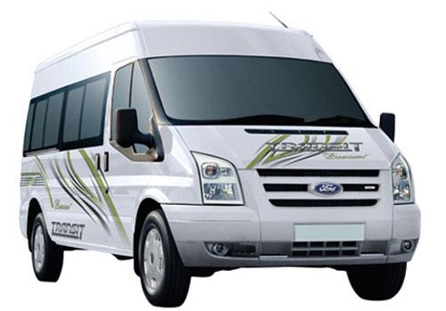 Cho thuê xe ở thành phố Đà Nẵng- thuê 16 chỗ