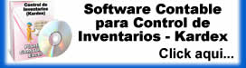 Control de Inventarios - Kardex