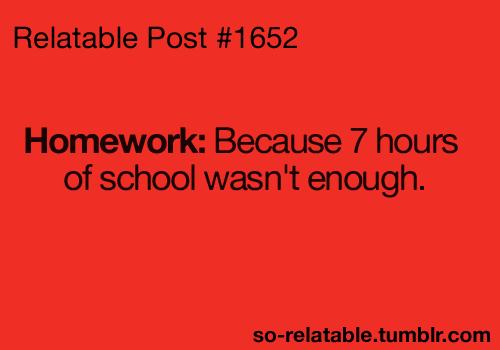 Positive homework debate