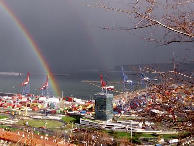el puerto de Bilbao