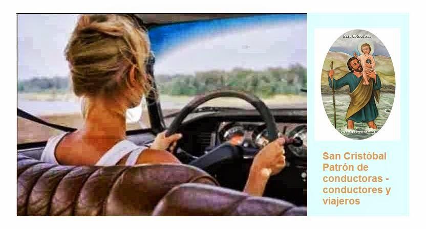 San Cristobal patrón de conductoras-conductores y viajeros