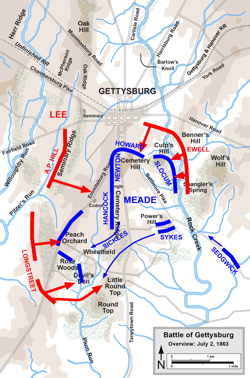 The Battle of Gettysburg July 2 1863 This Day in History