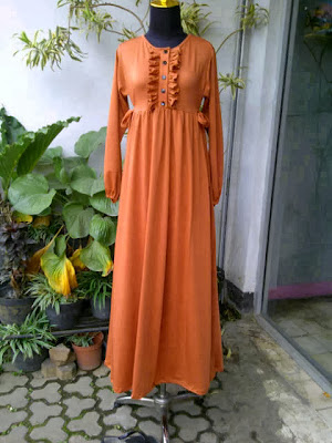 Gamis Jersey Pink