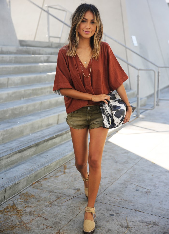 Rust Outfit Fashion Blog Trend 2015