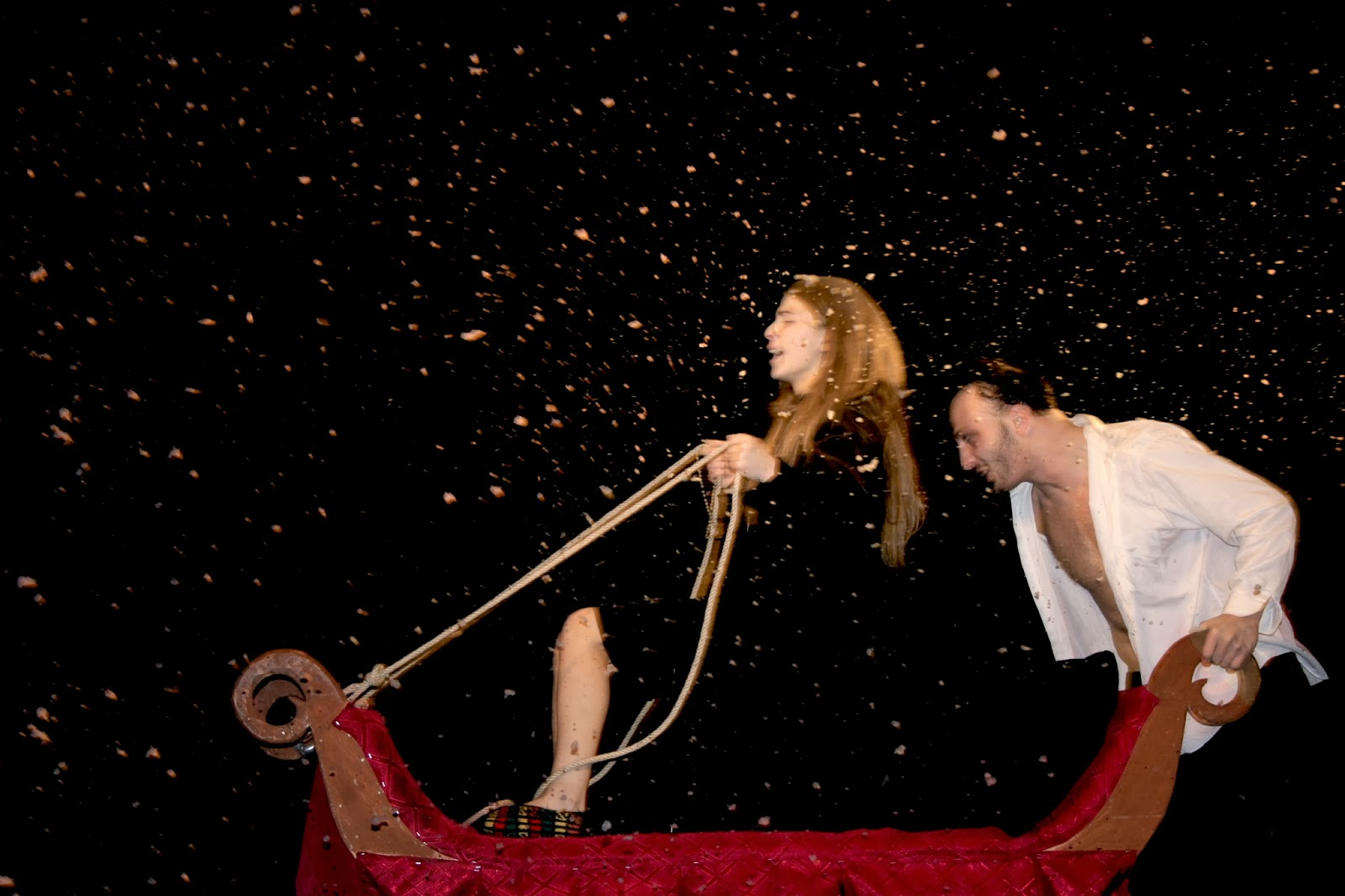 a recollection of a live performance experience of the play peer gynt