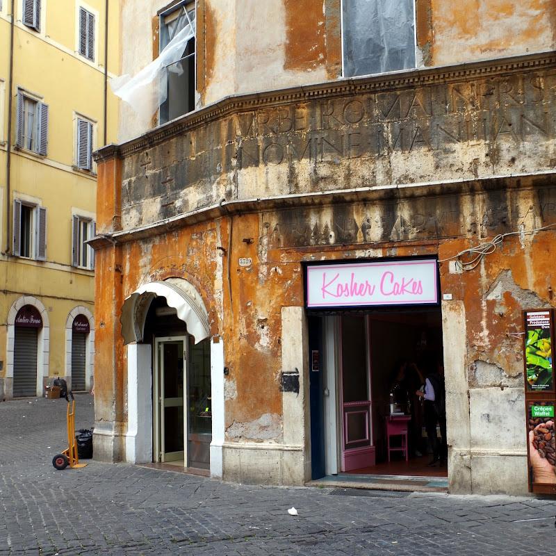 Kosher Cakes - auch diese gibt es in Rom