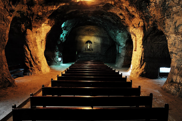 Catedral de sal de Zipaquirá, Colombia. Foto tomada de internet.