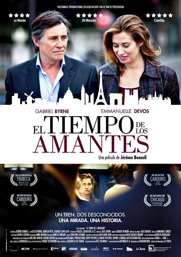 Cartel español de El tiempo de los amantes