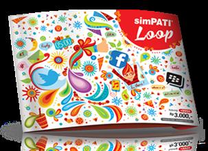 Simpati Loop paket internet 25 ribu perbulan