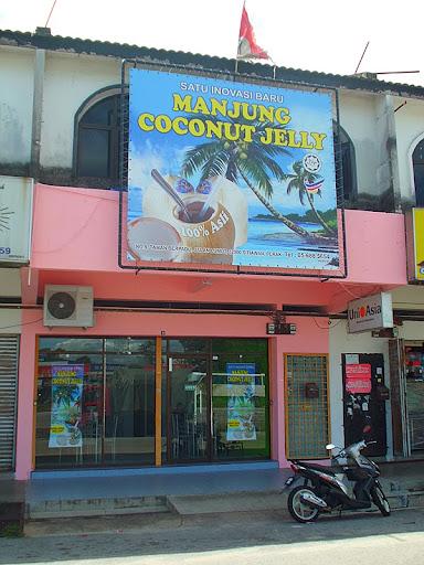 Manjung,Coconut,Jelly,Sedap,Sejuk