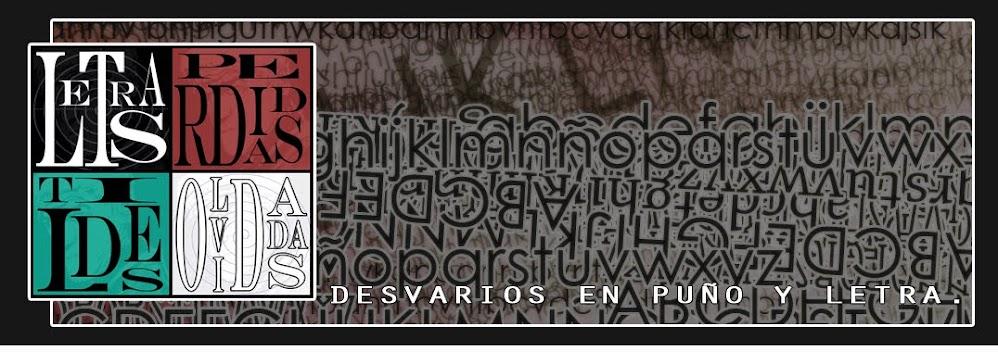 Letras Perdidas, Tildes Olvidadas.